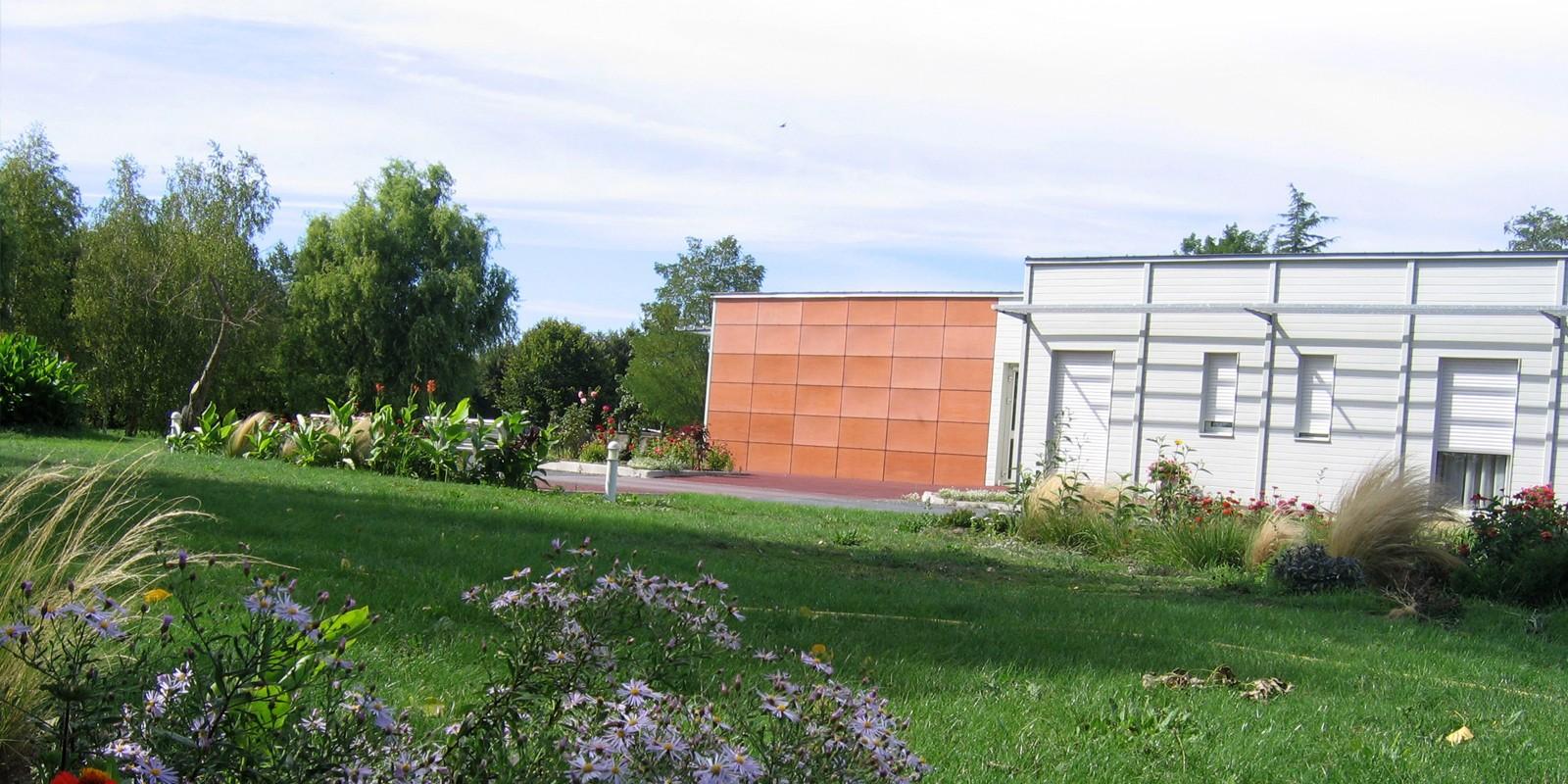 Maison parc extérieur